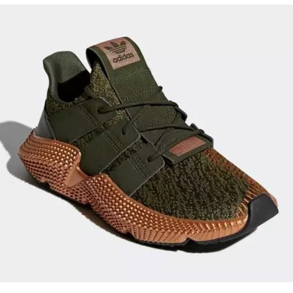 8a758d3ac73 ADIDAS Prophere Copper Olive Shoes